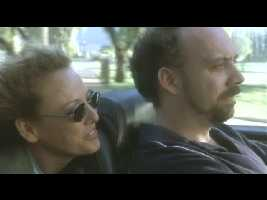 Virginia Madsen and Paul Giamatti, beSaabed.